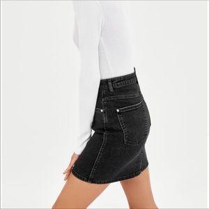 🟡2/$30 | Zara dark wash jeans skirt